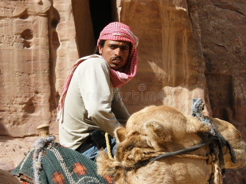 Un Bedioun nel deserto immagine stock libera da diritti