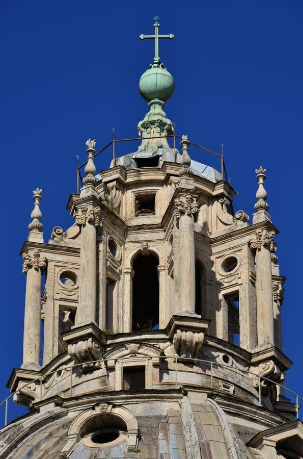 un bel exemple de lanterne baroque de toit rome photo. Black Bedroom Furniture Sets. Home Design Ideas