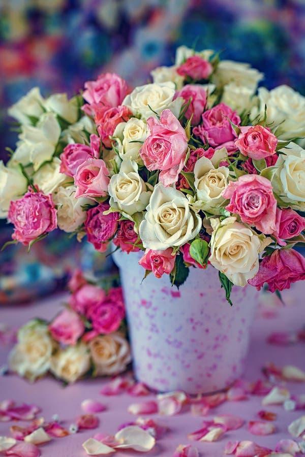 Un bel mazzo di fiori fotografia stock
