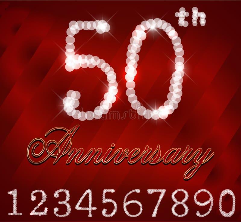 Preferenza Un Biglietto Di Auguri Per Il Compleanno Felice Da 50 Anni  JU27