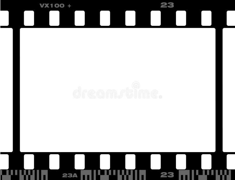 un blocco per grafici da 35 millimetri illustrazione di stock