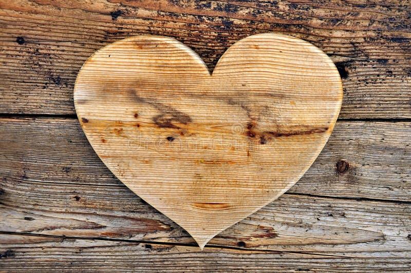 Un bois généreux de coeur photo libre de droits