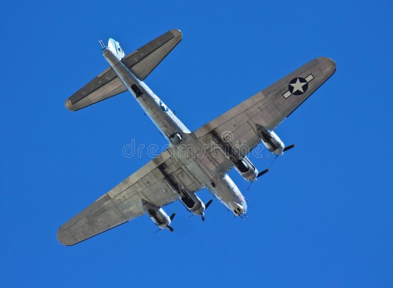 Un bombardier de forteresse de vol de B-17G, voyage sentimental photo libre de droits