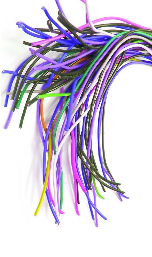 Un bon nombre de câbles photos stock