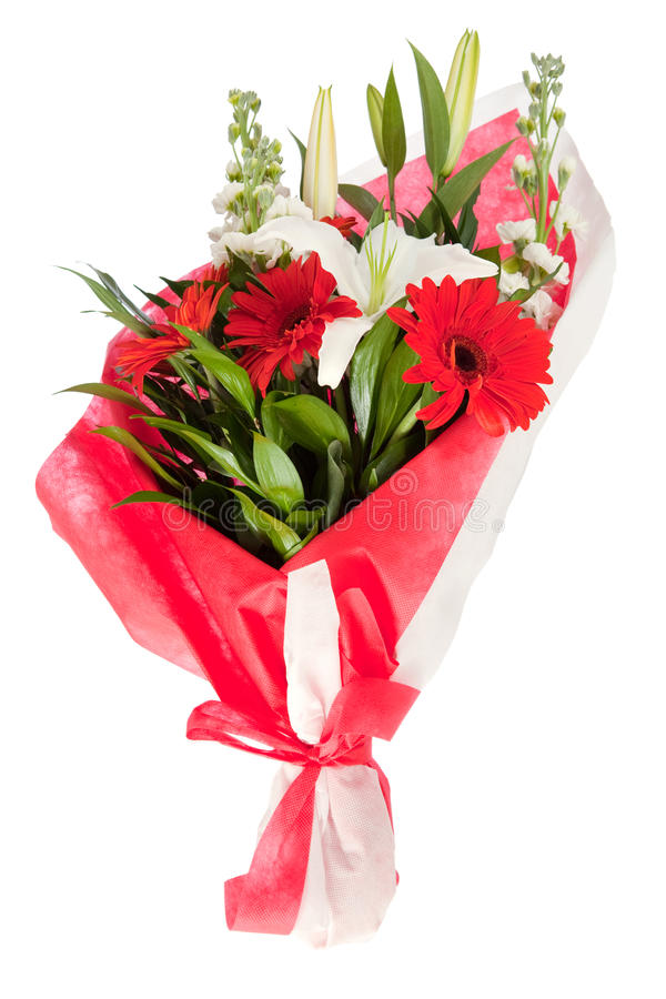 Un bon nombre de fleurs photographie stock