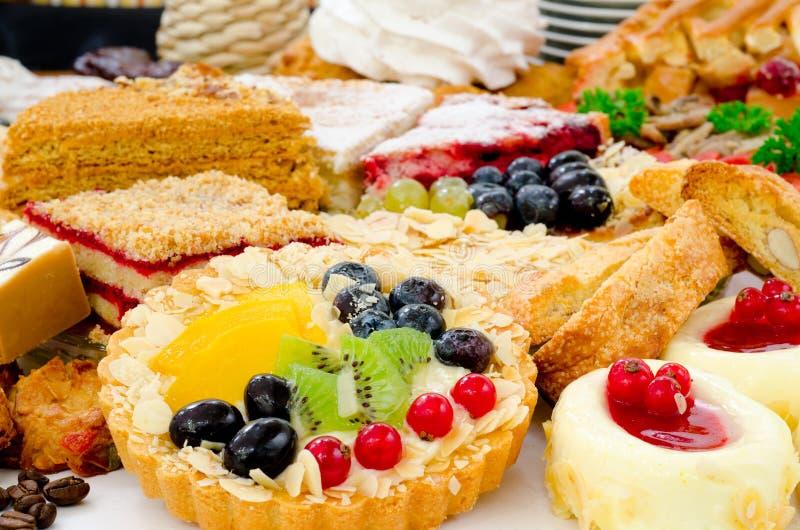 Un bon nombre de pâtisserie photo libre de droits