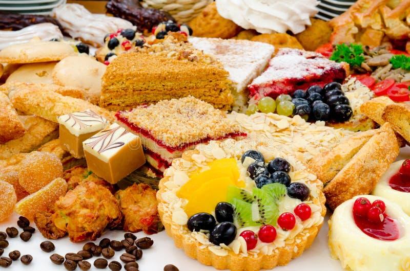 Un bon nombre de pâtisserie photo stock