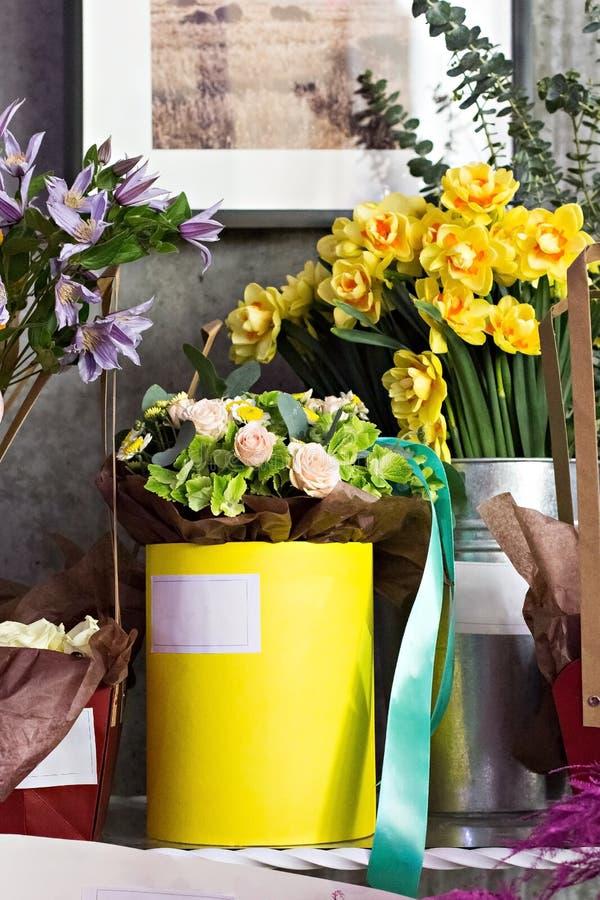 Un bouquet de belles fleurs images stock