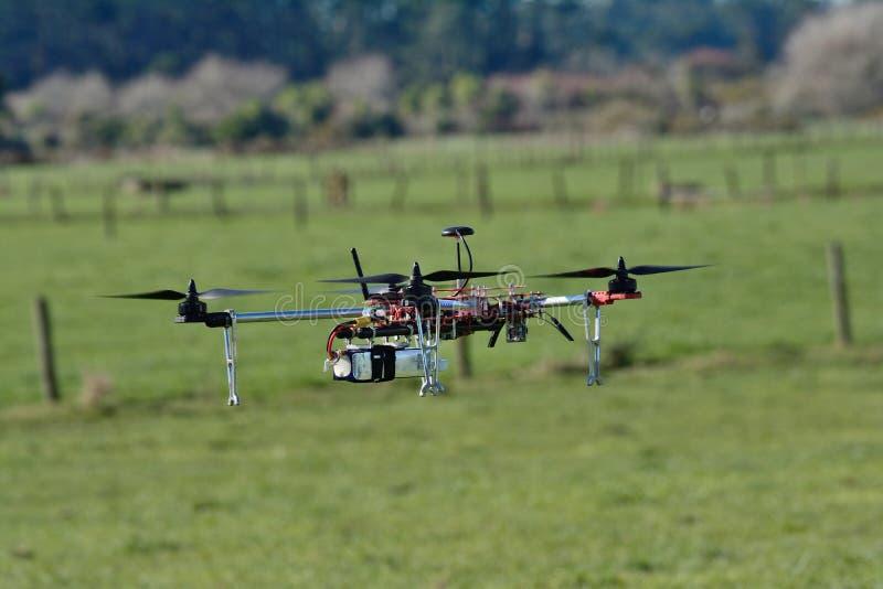 Un bourdon ou un UAV photos libres de droits