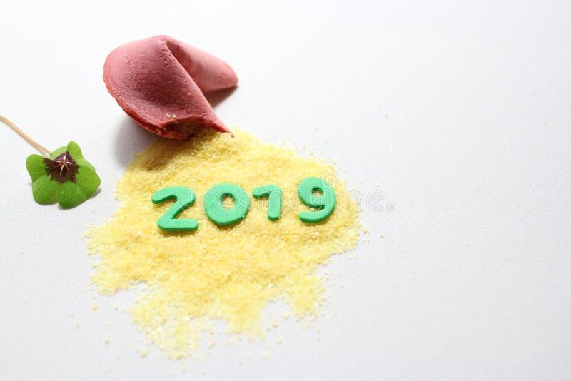 Un buon anno 2019! fotografia stock libera da diritti