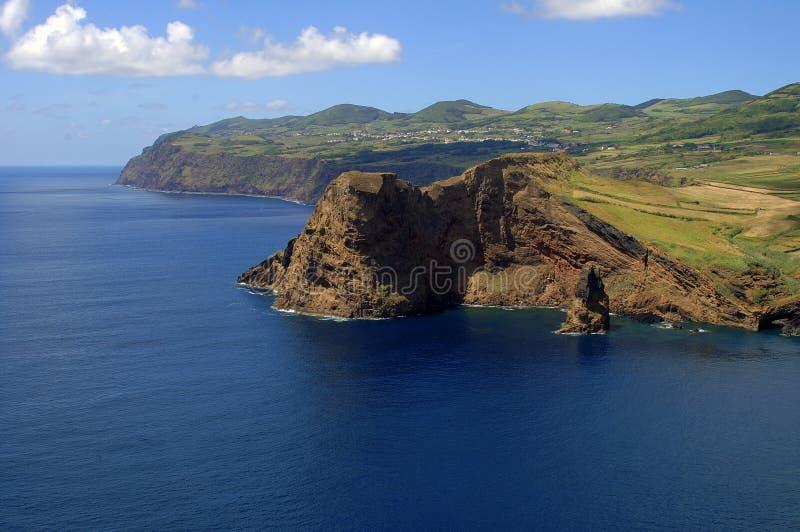 Un cabo en la isla de Jorge del sao. foto de archivo