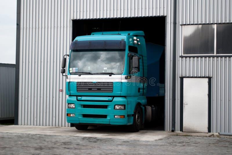 Un camión fotografía de archivo