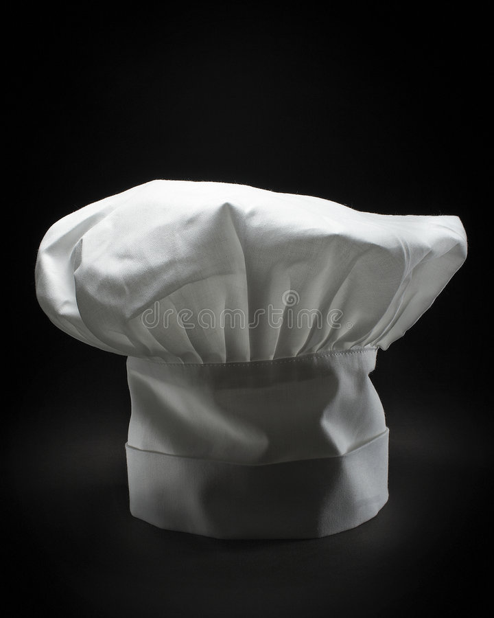 Un cappello classico del cuoco unico fotografia stock libera da diritti