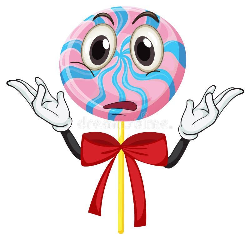 Un caramelo ilustración del vector