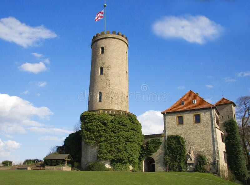 Un castello a Bielefeld immagini stock