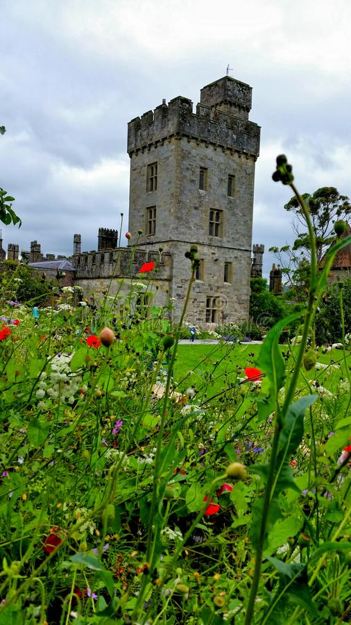 Un castello nella distanza immagine stock libera da diritti