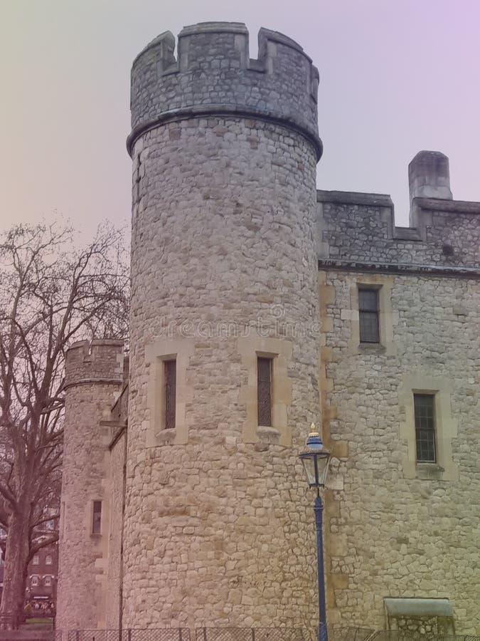 Un château médiéval images stock
