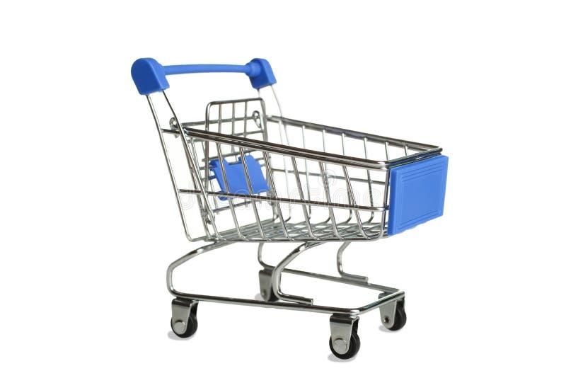 Un chariot à épicerie images stock