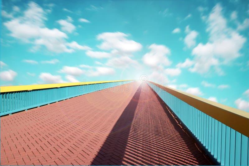 Un chemin vers le ciel photographie stock