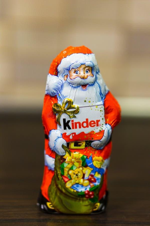 Un chocolat plus aimable Santa Claus photos libres de droits