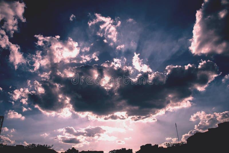 Download Un cielo azul foto de archivo. Imagen de cielo, azul - 44856928