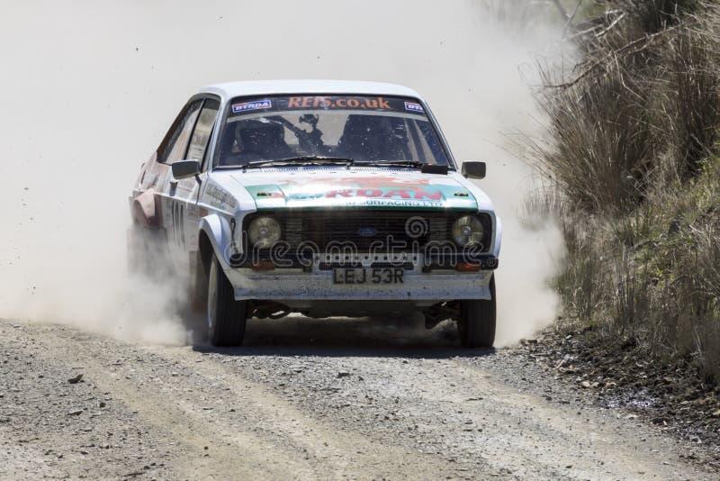 Un coche de la reunión de Mkii Ford Escort fotos de archivo
