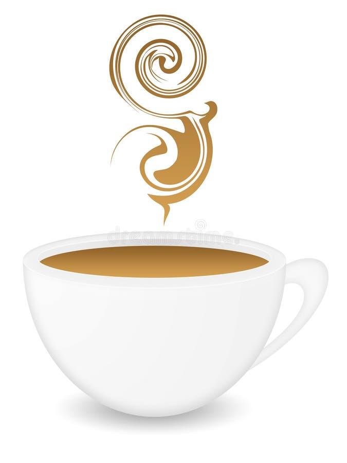 Un coffeecup agradable fotografía de archivo
