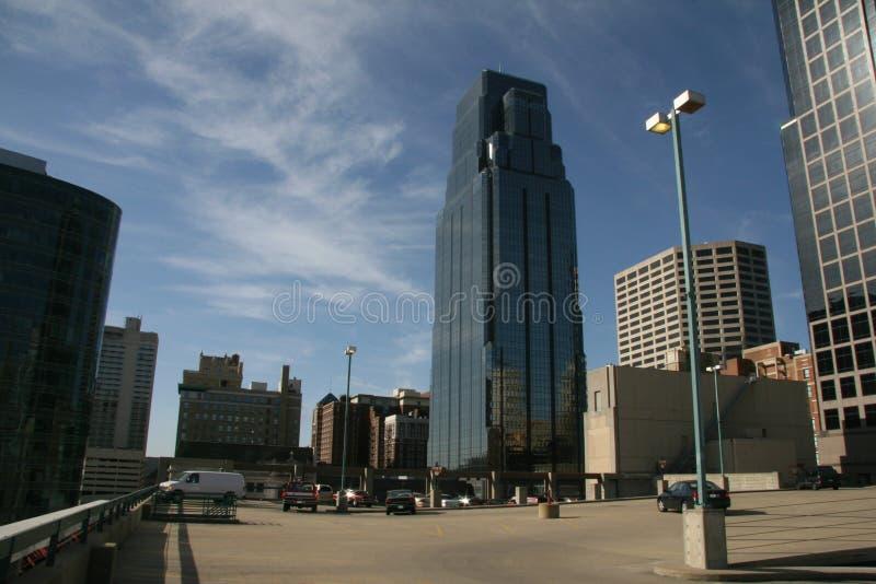 Un colpo di Kansas City fotografie stock