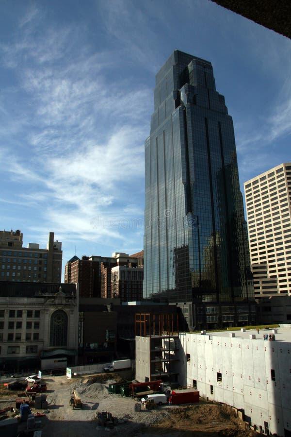 Un colpo di Kansas City immagine stock libera da diritti