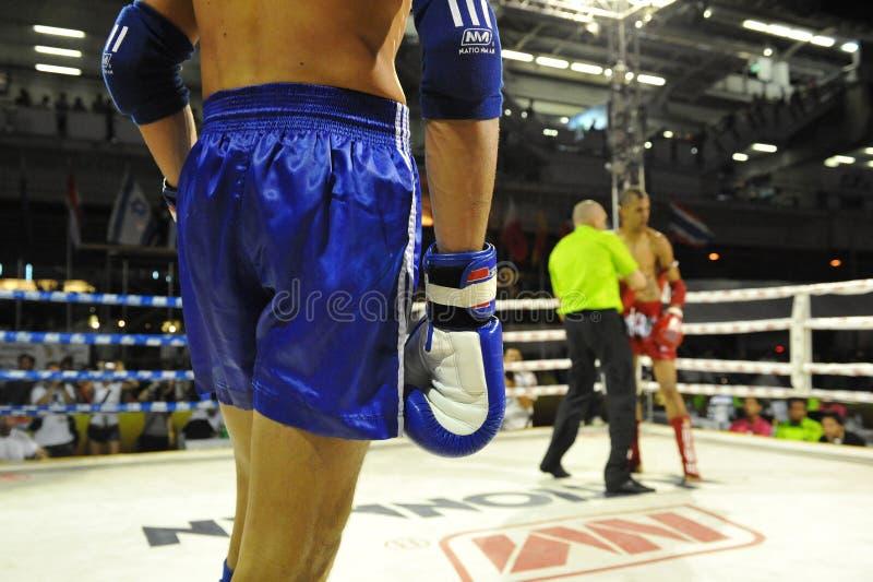 Championnats du monde de Muaythai image libre de droits