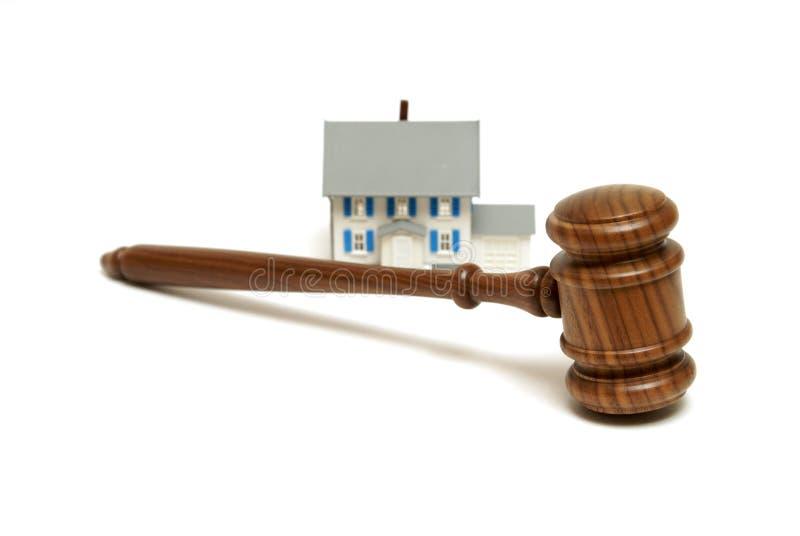 Legalità residenziali fotografia stock libera da diritti