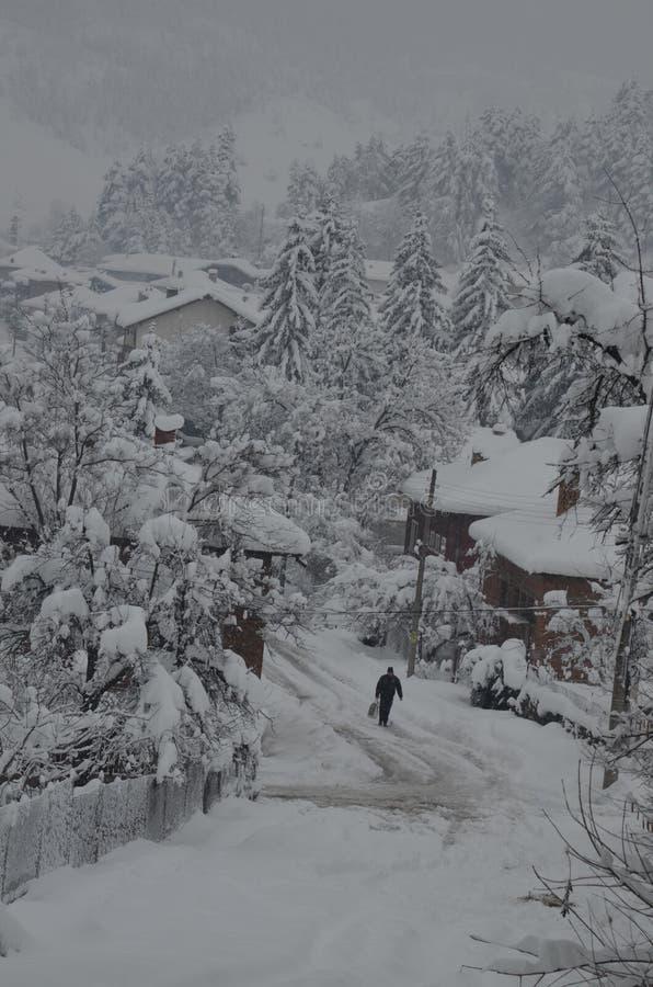 Un conte d'hiver images libres de droits