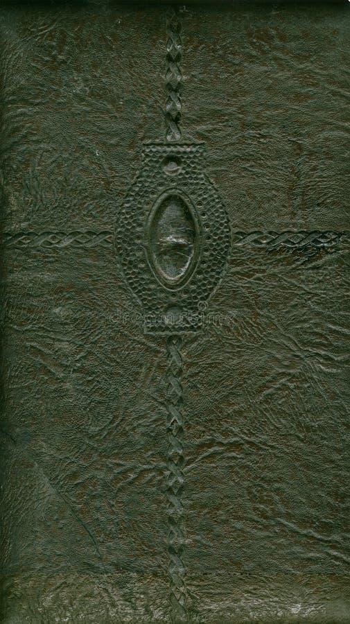 Un coperchio dell album del cuoio dell annata