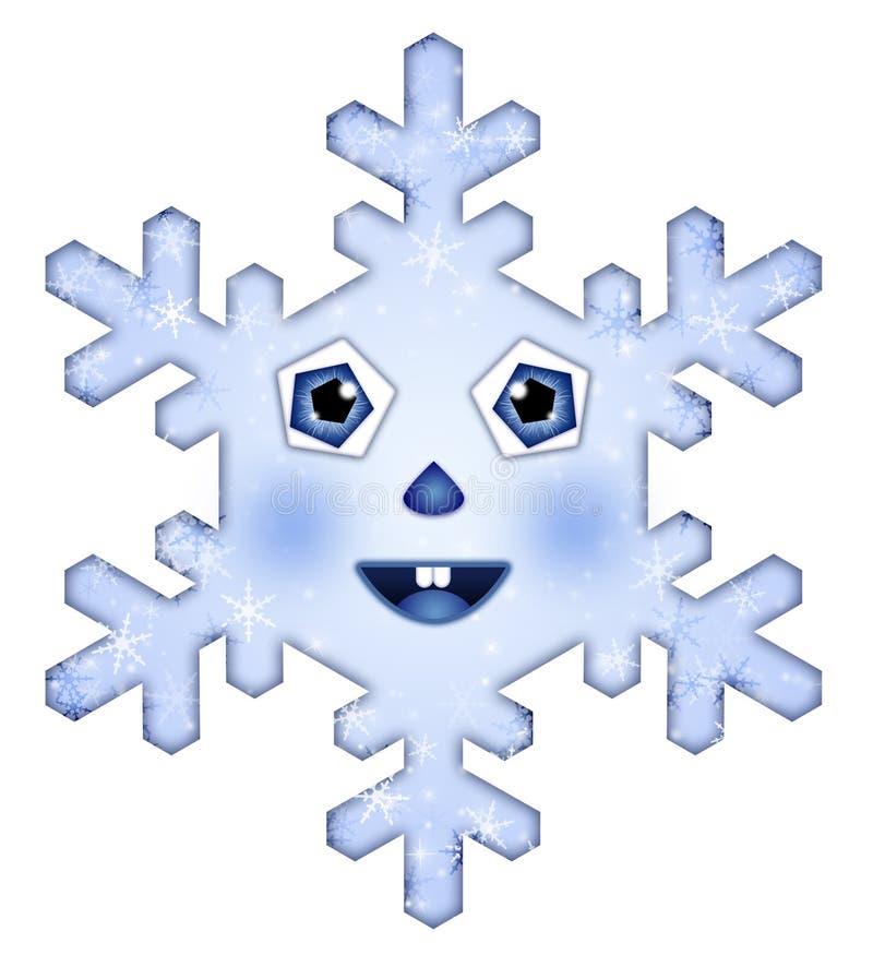 Un Copo De Nieve Hermoso Fotografía de archivo libre de regalías