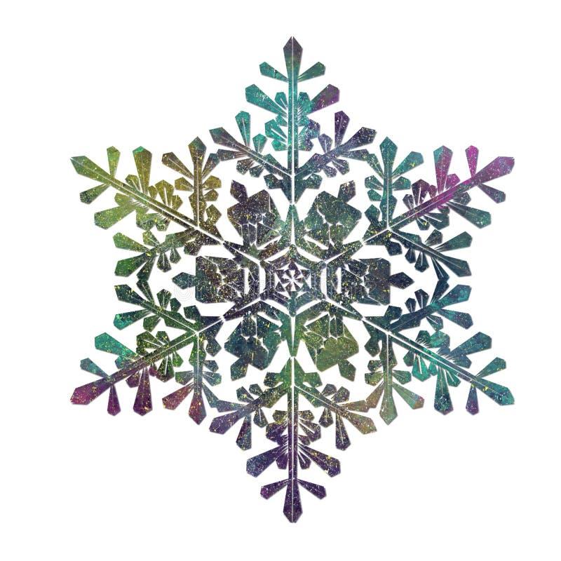 Un copo de nieve, oscuridad, forma, figura libre illustration