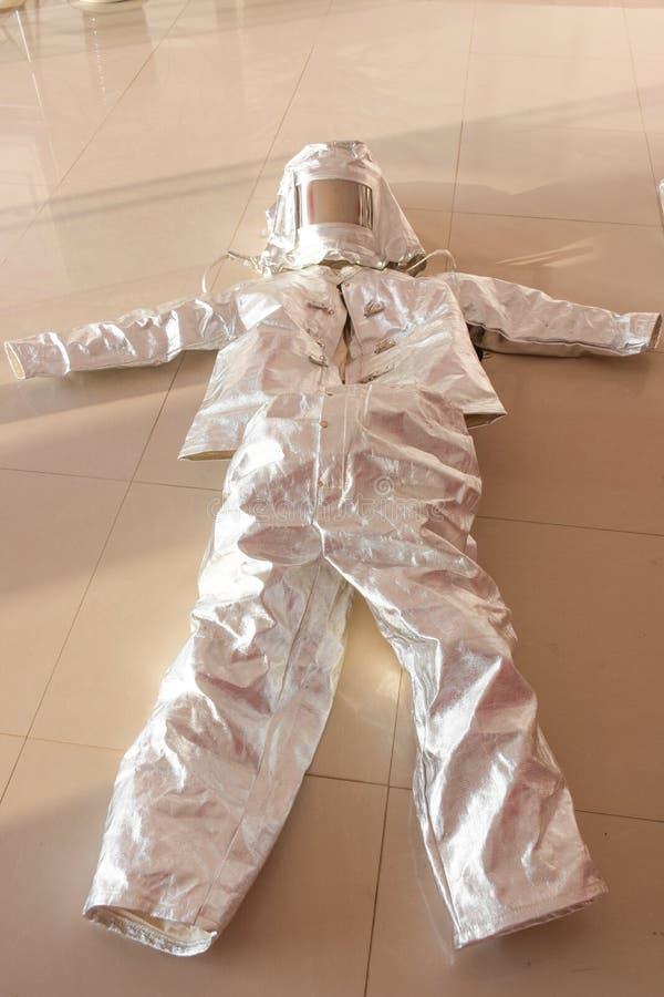 Un costume ignifuge photographie stock libre de droits