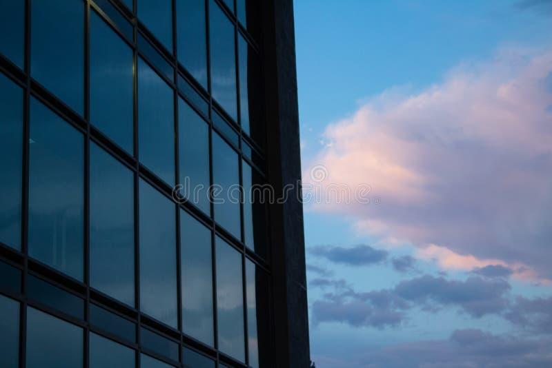 Un coucher du soleil photographie stock