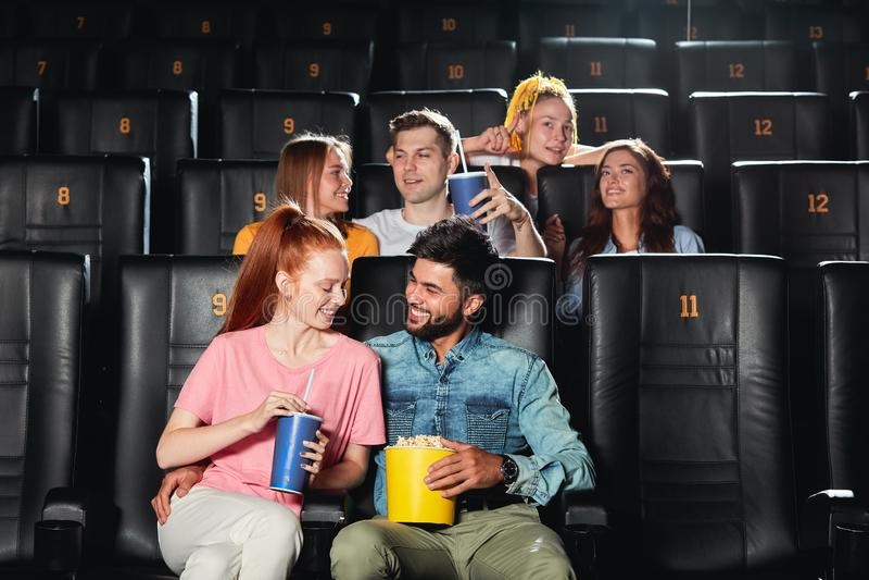 flirter au cinema)