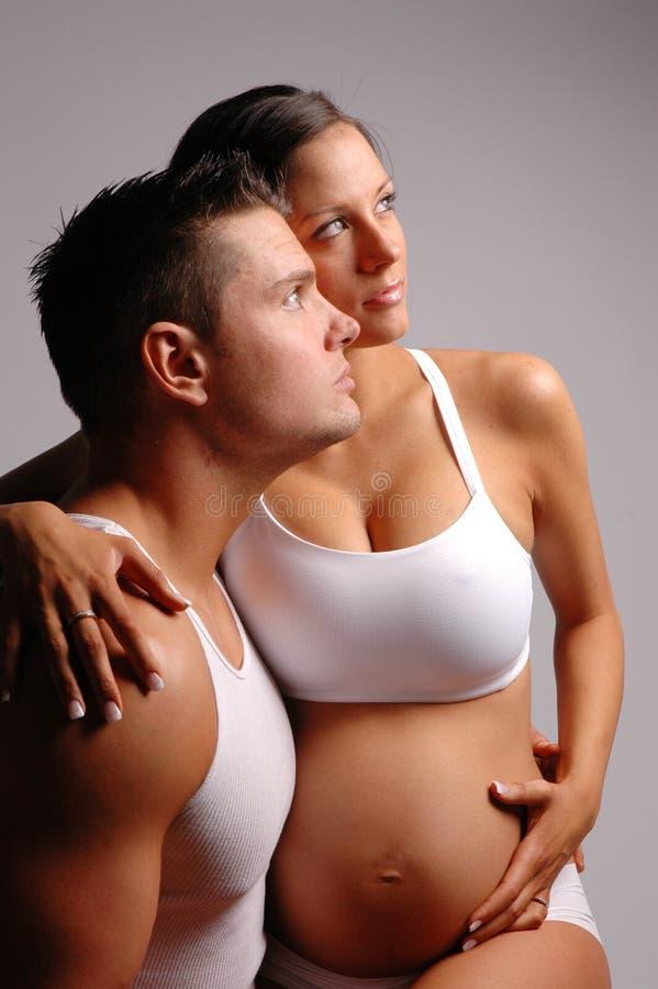 Un couple heureux photographie stock libre de droits