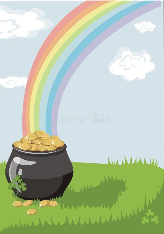 Un crisol de oro libre illustration