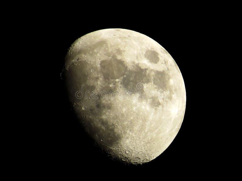 Un croissant de lune images stock