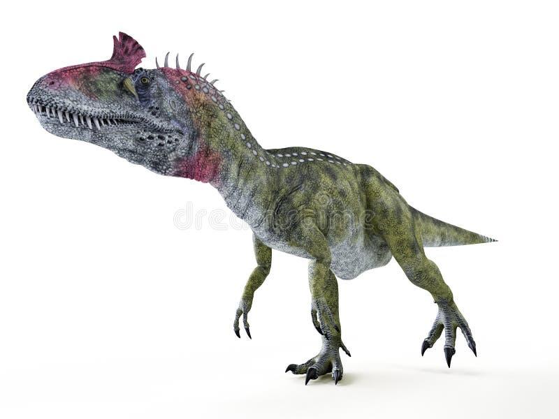 un Cryolophosaurus royalty illustrazione gratis