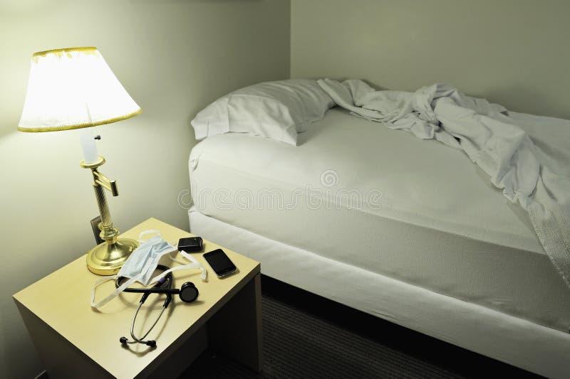 Un cuarto verdadero de la llamada para un doctor. fotos de archivo libres de regalías