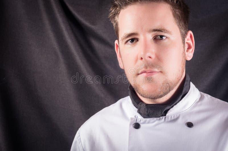 Un cuisinier confiant images stock
