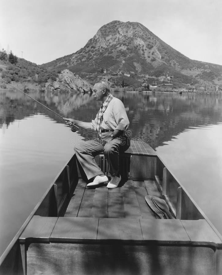 Un día en el lago fotos de archivo
