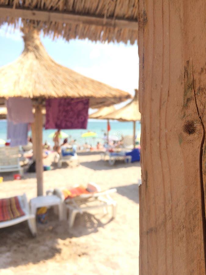 Un día en la playa fotografía de archivo