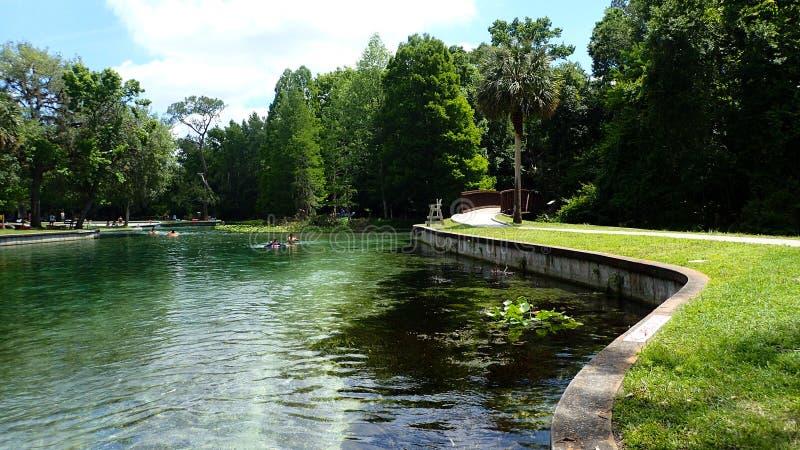 Un de beaucoup de ressorts de la Floride photo stock