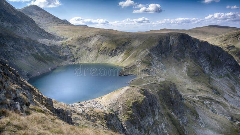 Un des septièmes lacs Rilla photographie stock libre de droits