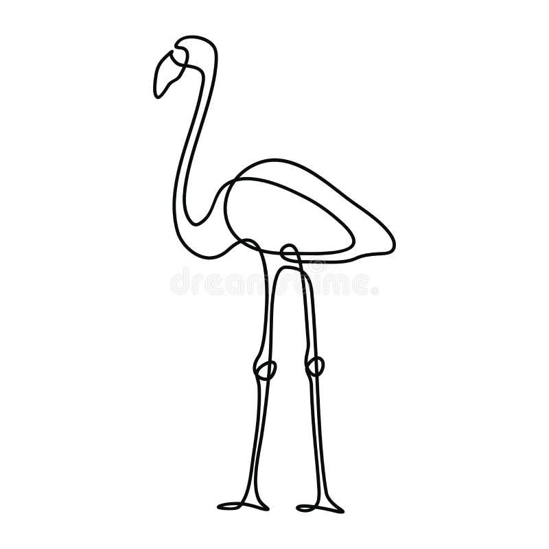 Un dessin au trait illustration stock