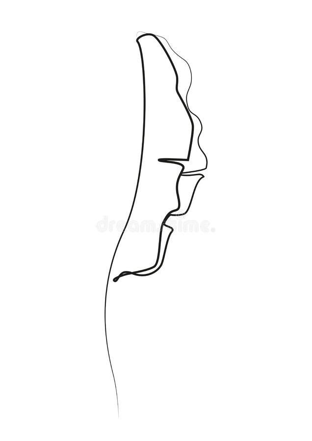 Un dessin au trait Dessin de d?coupe de feuille de banane illustration de vecteur
